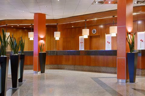 Sheraton Frankfurt Congress Hotel - Lobby