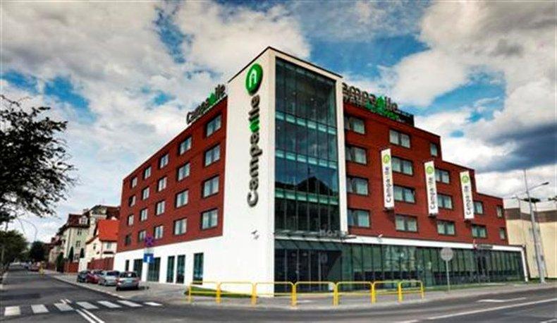 Hotel Campanile Bydgoszcz Außenansicht