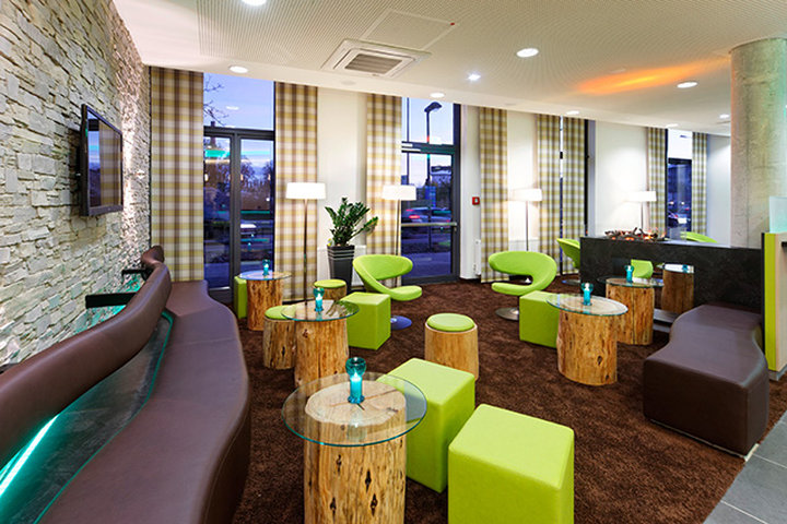 Holiday Inn Express Augsburg Bar/Lounge