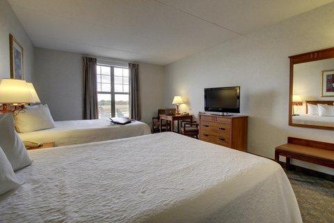 Hampton Inn & Suites Chicago / Aurora - Double Queen Room