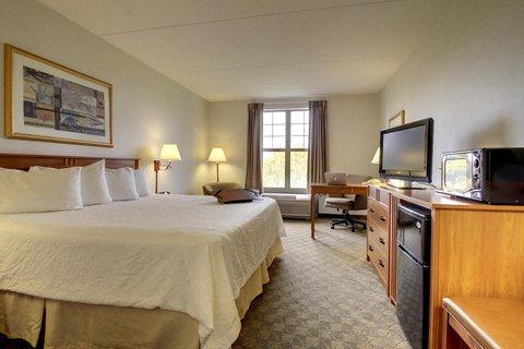 Hampton Inn & Suites Chicago / Aurora - King Standard
