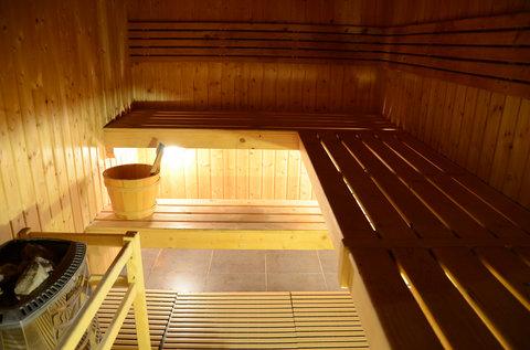 فندق كريستال أبوظبي - Cristal Spa Sauna Room
