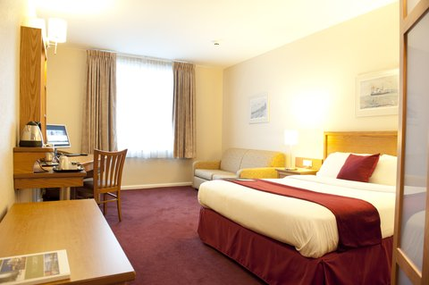 Future Inn Cardiff Bay - Standard Double Room with Double Sofa Bed