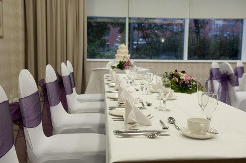 Future Inn Cardiff Bay - Wedding Breakfast Top Table