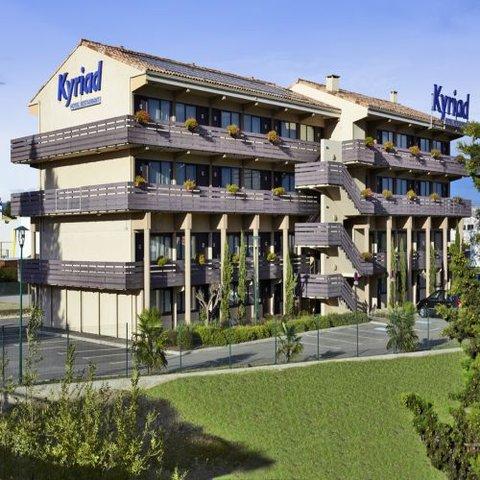卡尔卡松兰庭西伊利亚德酒店 - Exterior view