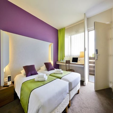 卡尔卡松兰庭西伊利亚德酒店 - Twin room