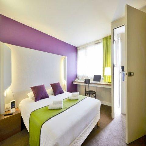 卡尔卡松兰庭西伊利亚德酒店 - Double room