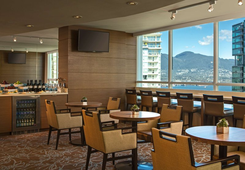 Vancouver Marriott Pinnacle Downtown Bár/lounge