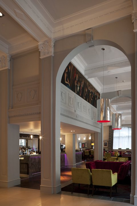 Hotel Indigo Glasgow Lobi