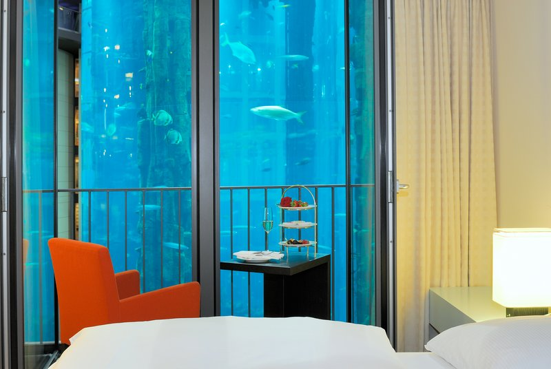 Radisson Blu Hotel, Berlin Szobakilátás