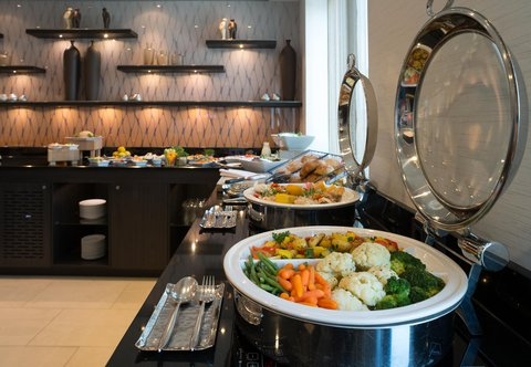 Cologne Marriott Hotel - Executive Lounge Buffet