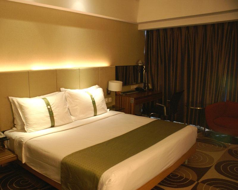 Holiday Inn Binhai Tianjin Vista della camera