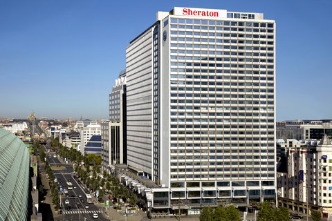 Sheraton Brussels Hotel - Exterior