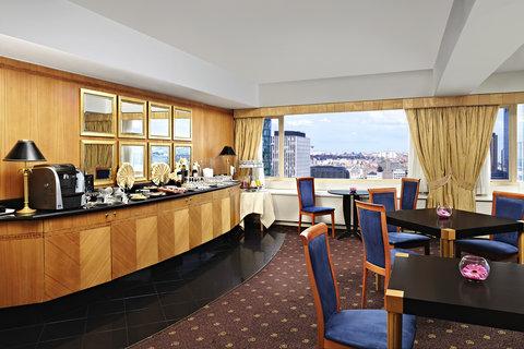 Sheraton Brussels Hotel - Club Lounge