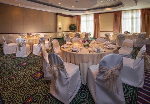 Courtyard Gaithersburg Washingtonian Center - Ballroom   Banquet Setup