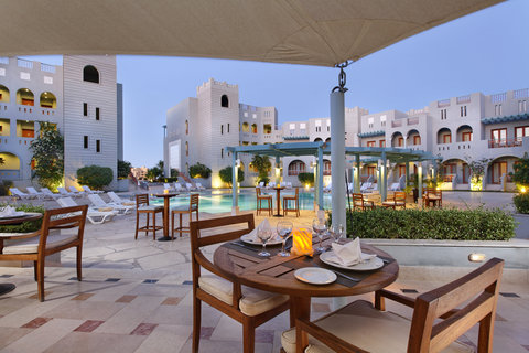 Fanadir Hotel El Gouna adults only - Fanadir Hotel restaurant terrace