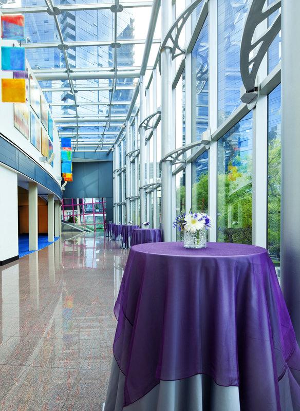 Sheraton Vancouver Wall Centre Lobby