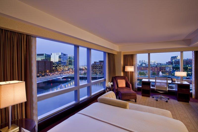 InterContinental Boston 客房视图