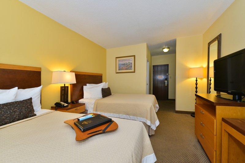 Connecticut Avenue Days Inn Vista de la habitación