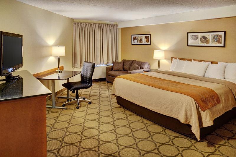 Comfort Inn Fredericton Vista della camera