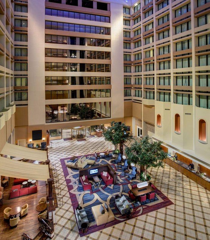 Marriott Houston Westchase Lobby