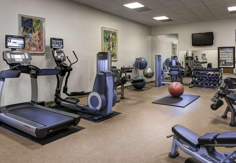 Marriott Houston Westchase Fitness club