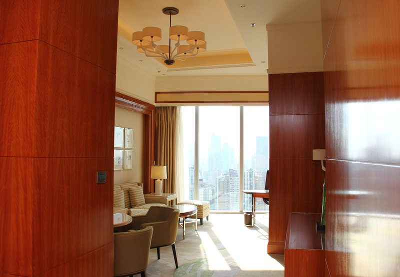 Shanghai Marriott Hotel City Centre Vista do quarto