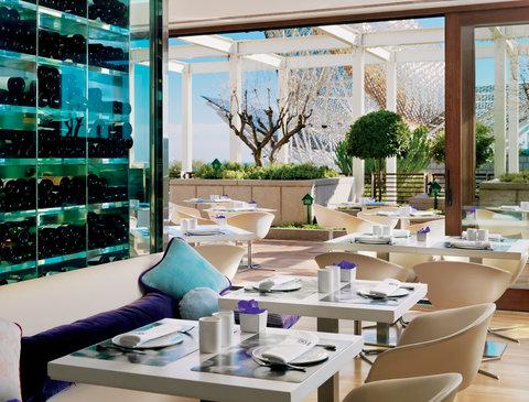 فندق آرتس برشلونة - Daytime view restaurant with terrace Arola restaur