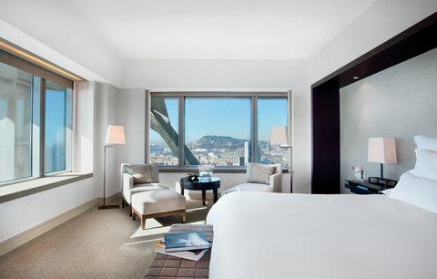 فندق آرتس برشلونة - Deluxe room with spectacular sea-city view
