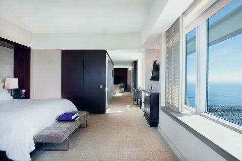 فندق آرتس برشلونة - Executive Suite with Port Olympic view