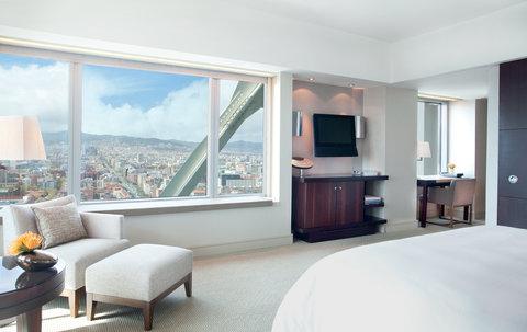 فندق آرتس برشلونة - Deluxe room with panoramic city view