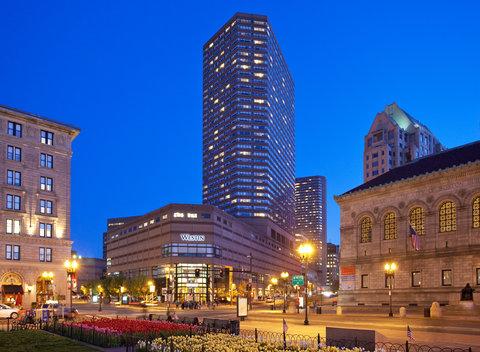 The Westin Copley Place, Boston - Exterior