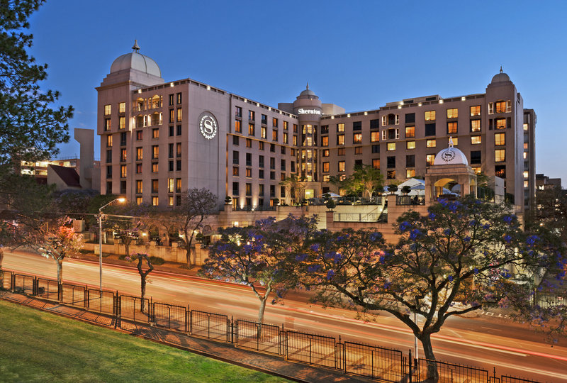 Sheraton Pretoria Hotel Vista exterior