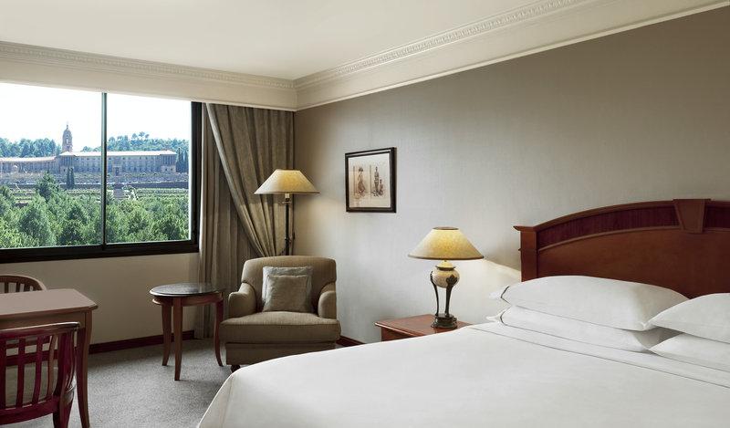 Sheraton Pretoria Hotel Vista de la habitación