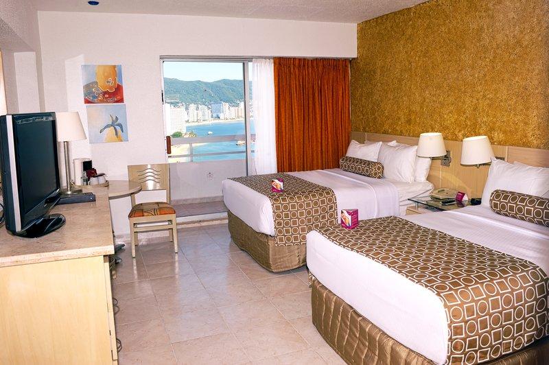 Crowne Plaza Hotel Acapulco Vista de la habitación