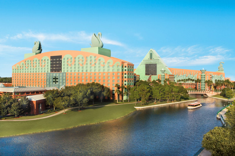 Walt Disney World Swan Pohled zvenku