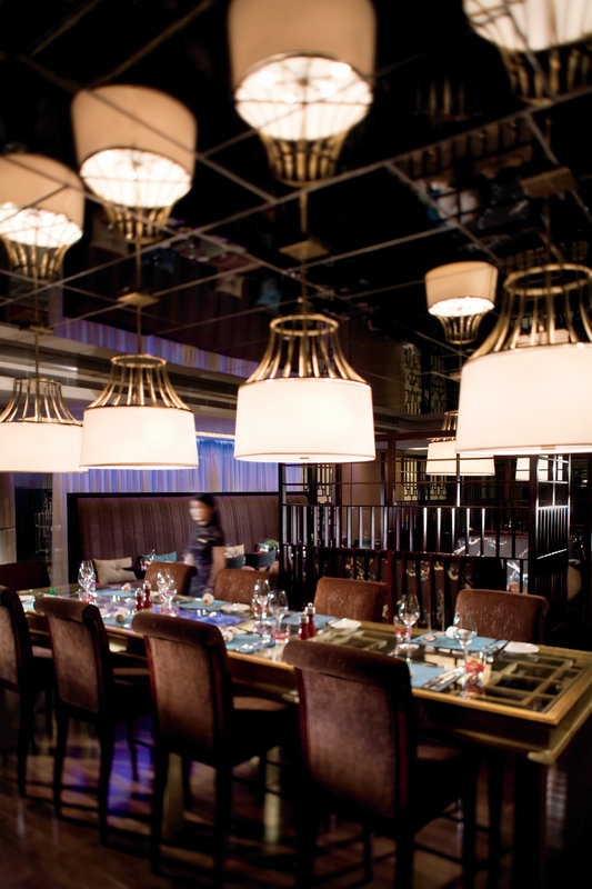 The Ritz Carlton Portman Shanghai Restaurang