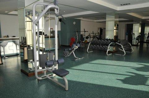 Atrium Hotel - gym