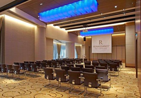 Renaissance Kuala Lumpur Hotel - R Studios - Theatre Setup