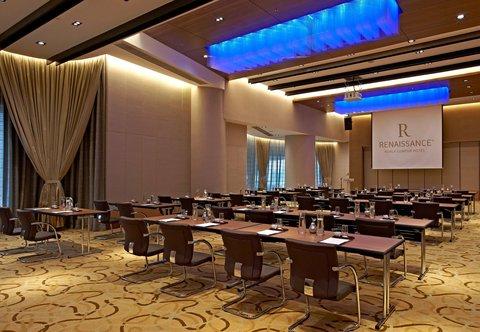 Renaissance Kuala Lumpur Hotel - R Studios - Classroom Setup
