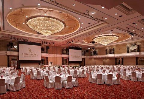 Renaissance Kuala Lumpur Hotel - Grand Ballroom - Banquet Setup