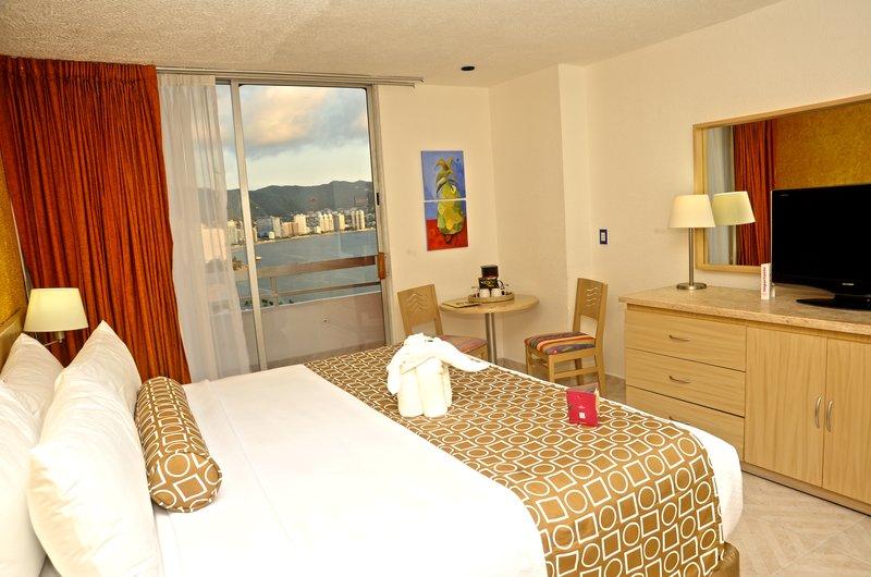 Crowne Plaza Hotel Acapulco Odanın görünümü