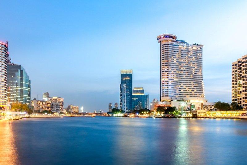 Millennium Hilton Bangkok Kilátás a szabadba