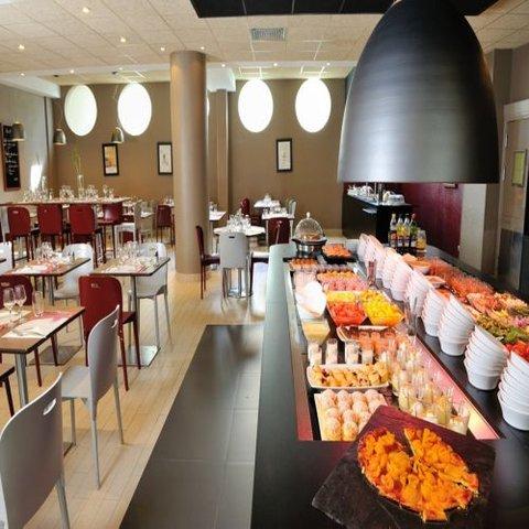 Campanile Nice Airport - buffet restaurant