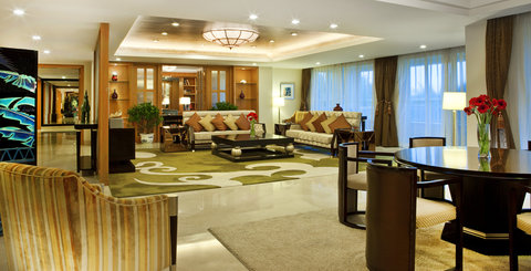 Sheraton Haikou Resort - Presidential Suite Living Room