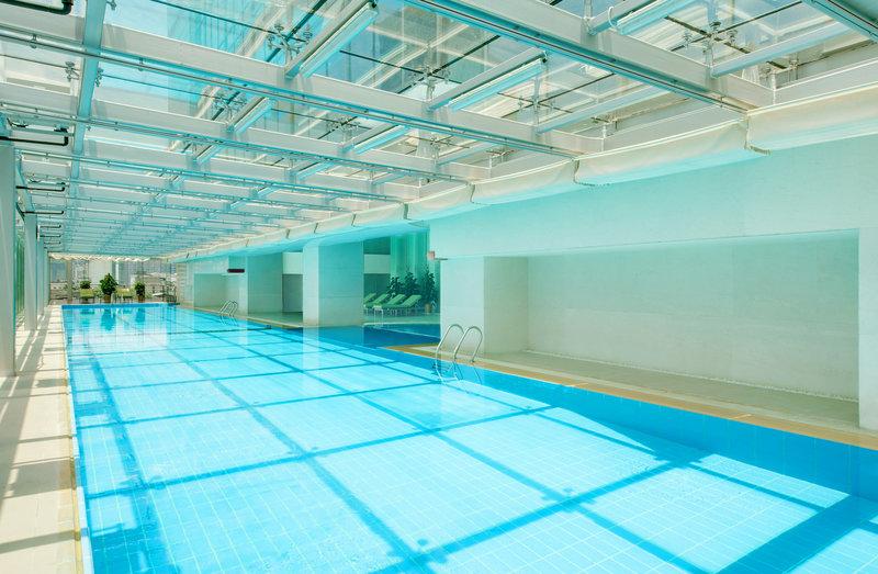 Sheraton Changsha Hotel Vista della piscina