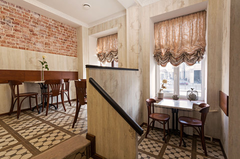 Ligotel Hotel St Petersburg - Caffee