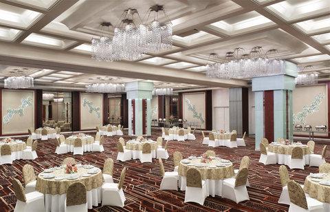 Le Meridien Bangalore - Coronet Ballroom Cluster Style