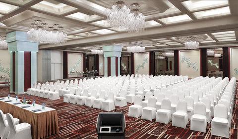 Le Meridien Bangalore - Coronet Ballroom Theatre Style