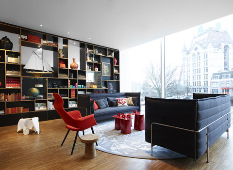 citizenM Rotterdam - Lounge